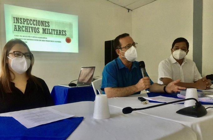 Inspección archivos militares masacre El Mozote inicia 21 de septiembre