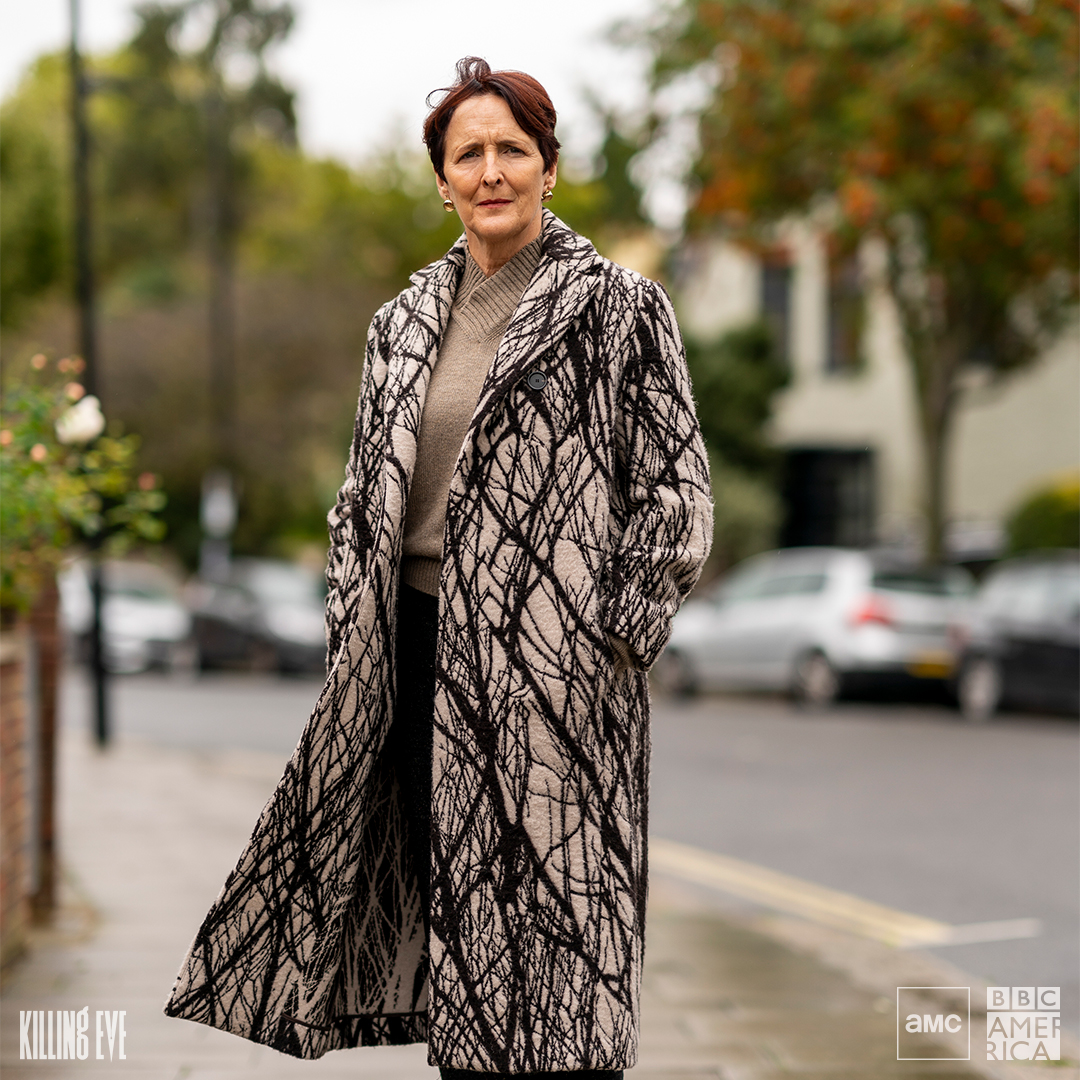 Congratulations to our inscrutable queen #KillingEve's Fiona Shaw as she is honored during #TheGracies. You can watch the ceremony tonight at 7pm ET on @AllWomeninMedia's Facebook or Instagram page.