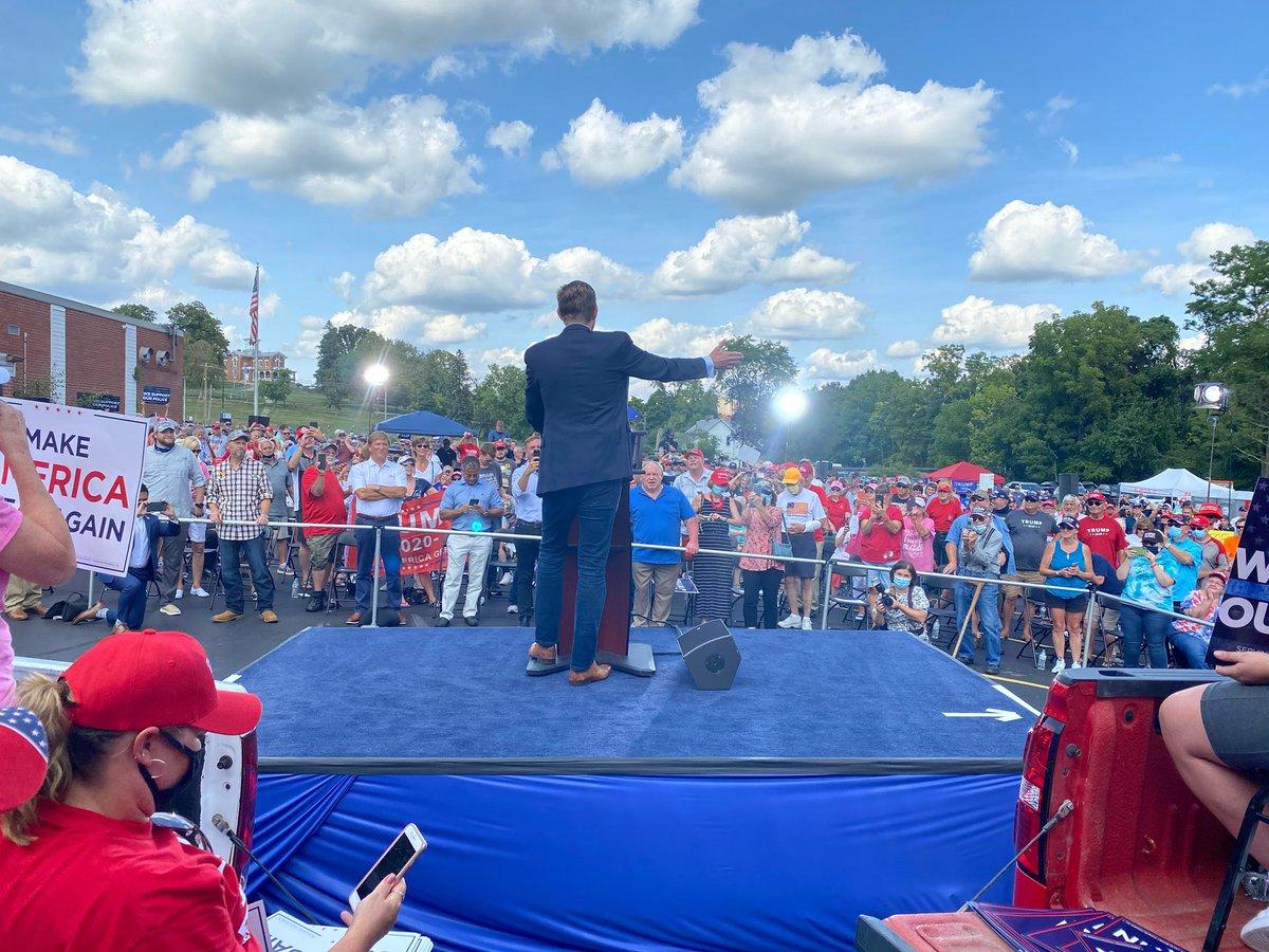 Thank you #Washington #Pennsylvania! We love you! @realDonaldTrump will never let you down!!! #KeepAmericaGreat