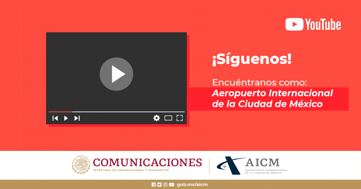 Descubre más contenido visual del #AICM, en nuestro Canal de YouTube https://t.co/vk6Jo2j1Hg https://t.co/V71AdGuo99