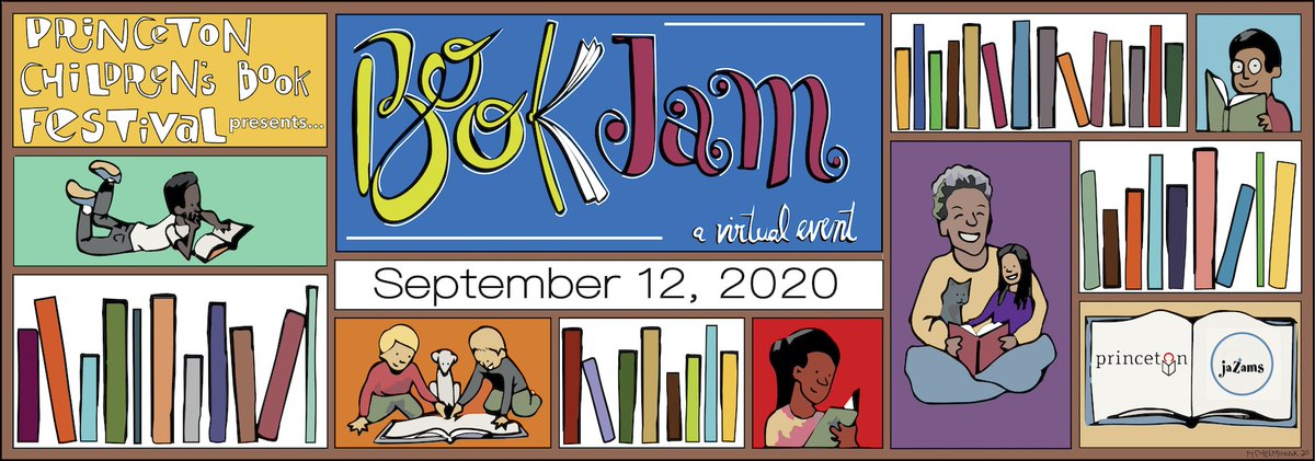 This Saturday! Princeton Children's Book Festival Book Jam! I'll be drawing with @johngreenart , @geneluenyang and @MrAdamRex . We're going to draw everything EXCEPT horses and bicycles.  Register: https://t.co/YCcdxPHqjK https://t.co/8TrgJRyA1J
