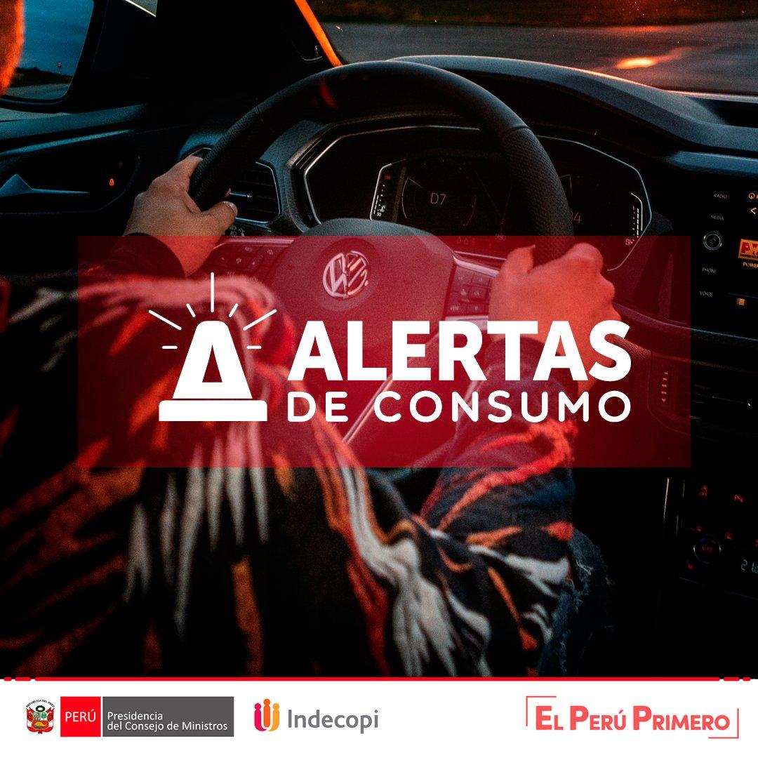 🚨#ALERTA: 898 vehículos modelo T-Cross de la marca Volskwagen presentarían fallas en la fijación de los amortiguadores delanteros que podría generar la inestabilidad en las ruedas direccionales ➡️ https://t.co/dFgk4Y7Qp3. https://t.co/MsLRUwnuBc