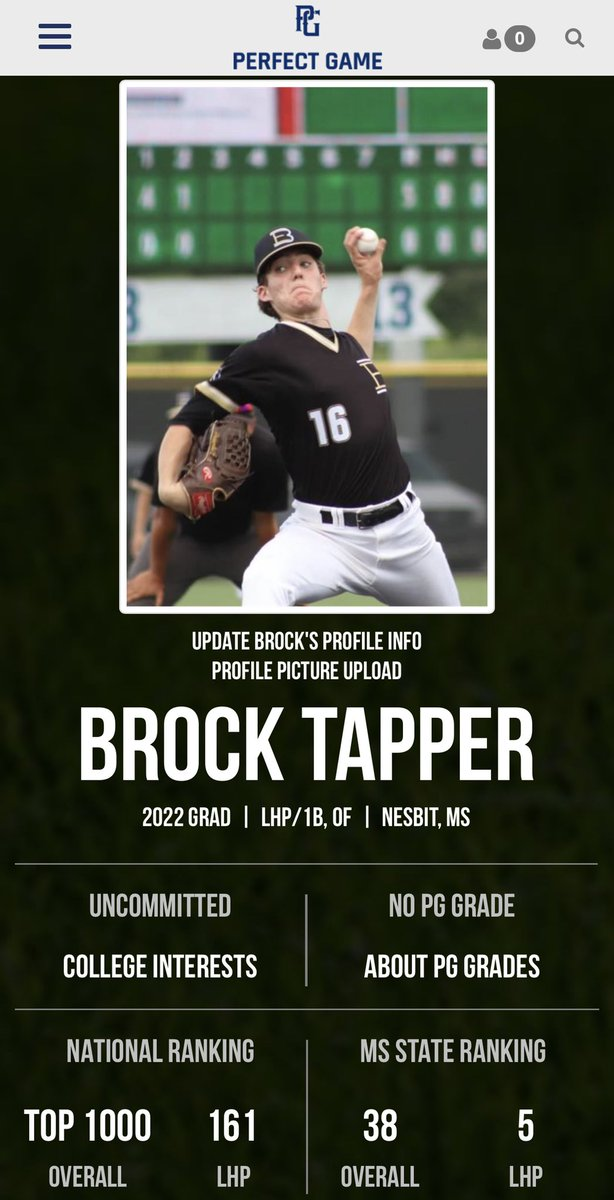 Very proud of @brocktapper2 in the hard work he put in this year with @dc_jaguar @EasleyBaseballC @EliteLevelP keep working and keep climbing, can't wait to see what God has in store for you!!!! https://t.co/B03rVZk6Ma