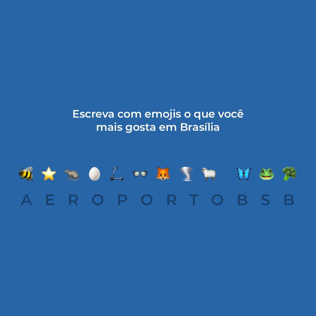 Parece fácil, mas não é tão simples... Queremos ver quem consegue, hein? Essa é pra botar a cabeça para pensar mesmo. 😂✈🛫🤔 #AeroportoBSB #Brasília https://t.co/VLqgbBUUhA