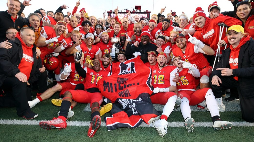 After a great call with coach Harris. I am grateful to receive an offer from @Dinos_Football. @chatfootball