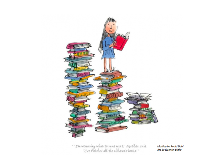 Don't ever under-estimate children's books. They're the most important books of all. They're the ones that shape us & make us readers in the first place. As such, they're the foundations of our civilisation - there would be no literature without them!  (Art: Quentin Blake) https://t.co/9W5FAYHLhE