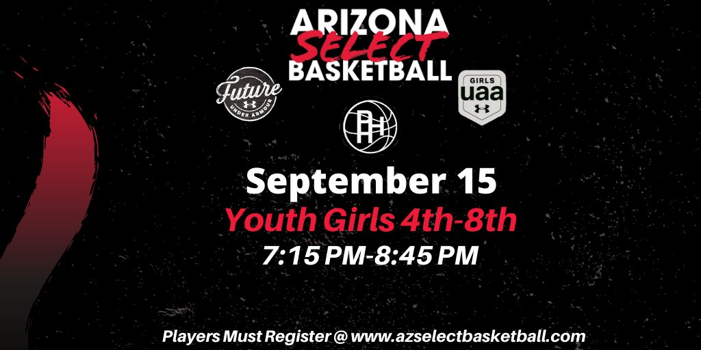 TRYOUT UPDATE: Youth Girls tryouts will be held @ThePHHacility! Excited to get started!   🔴Tuesday 9/15 at 7:15 PM.  🔴 Registration below⬇️⬇️⬇️  https://t.co/LEgXe9NZog https://t.co/BdgFh3ROjw