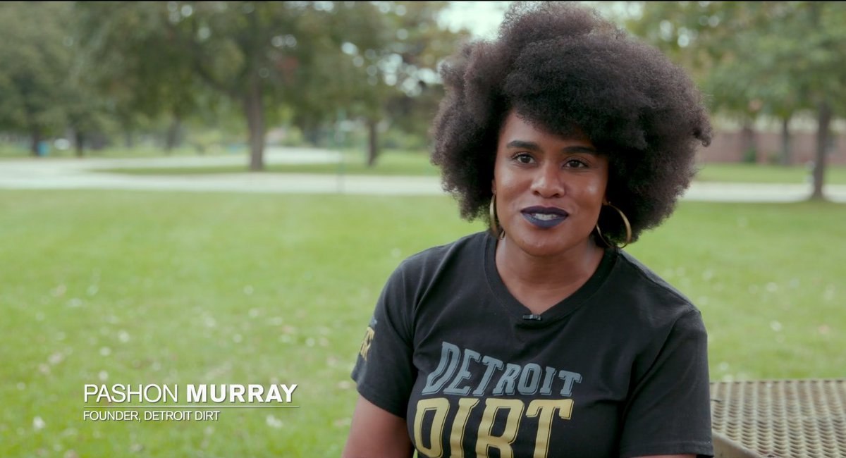 Meet @pashonmurray, founder of @detroitdirt and one of our favorite eco-champions! 💚She is changing the carbon footprint of Detroit with a zero-waste mindset ♻️ Detroit Dirt gathers manure and food waste from the community and turns it into high quality compost 🌎
