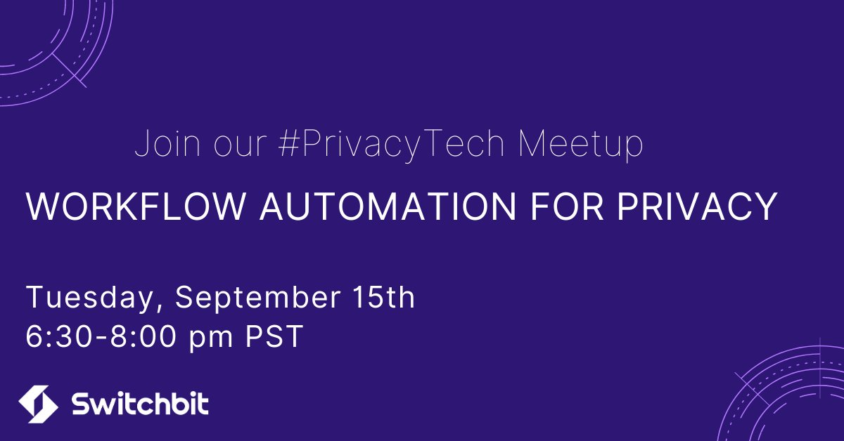 Join our meetup here to learn more: https://t.co/dEpT79WxXy