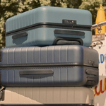 Image for the Tweet beginning: Away's first-ever luggage sale is
