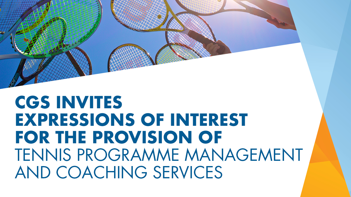CGS is pleased to invite Expressions of Interest for the provision of Tennis Programme Management and Coaching Services. Read more at https://t.co/VjOfdgYq6M