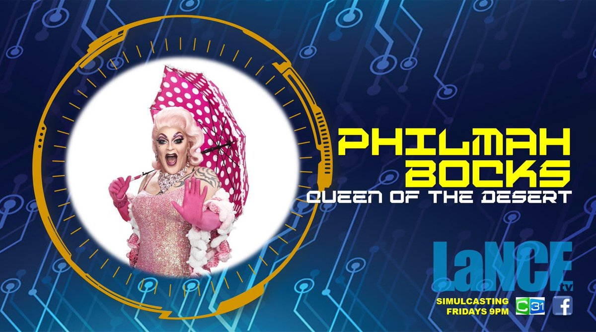 Philmah Bocks is the current Queen of the Desert as Broken Heel Festival Director and AAMI Glambassador and has a career which spans the globe for over 25 years. Lance TV is simply foaming about Philmah being on tonight's show. @C31Melbourne @Philmahbocks @AAMI https://t.co/LsTPXTQCXR