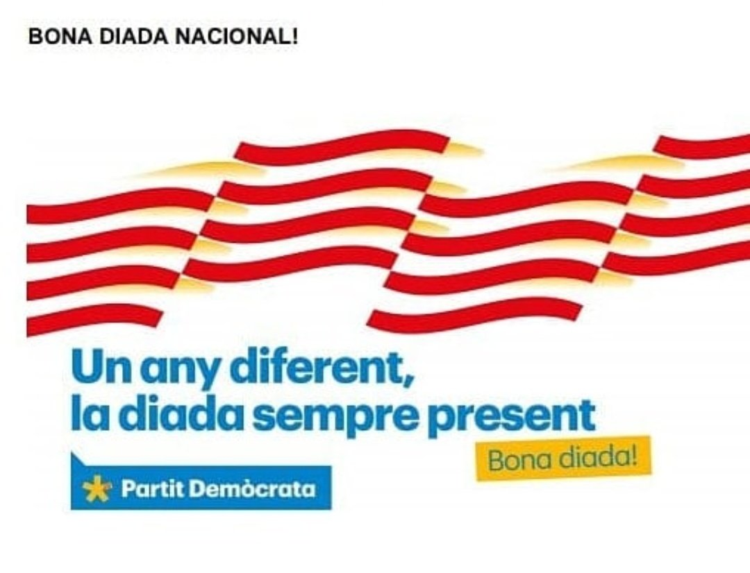 El @PDECATPLATJARO us desitja una bona diada #castelldaro #platjadaro #sagaro #DiadaNacionalDeCatalunya #pdecat https://t.co/0quih73kZ3