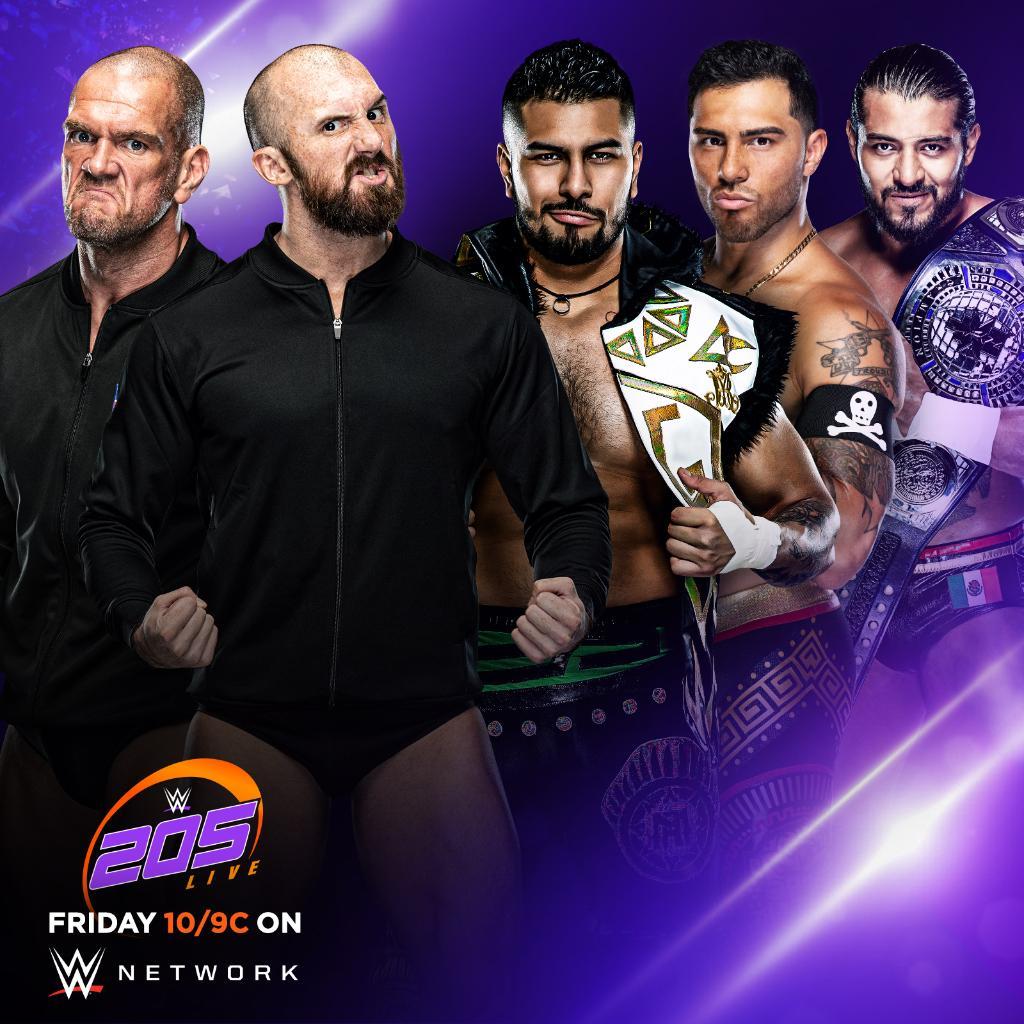 Oney Lorcan & Danny Burch Vs. Legado Del Fantasma Announced For Friday's WWE 205 Live