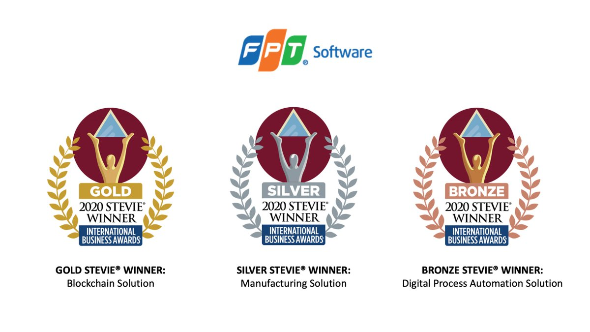 Several products of FPT Software, Vietnam's largest IT company, were named the winners of the 2020 International Business Awards® @FinancialTimes  https://t.co/TxWk3n2ILw https://t.co/OlD0j6vD0l