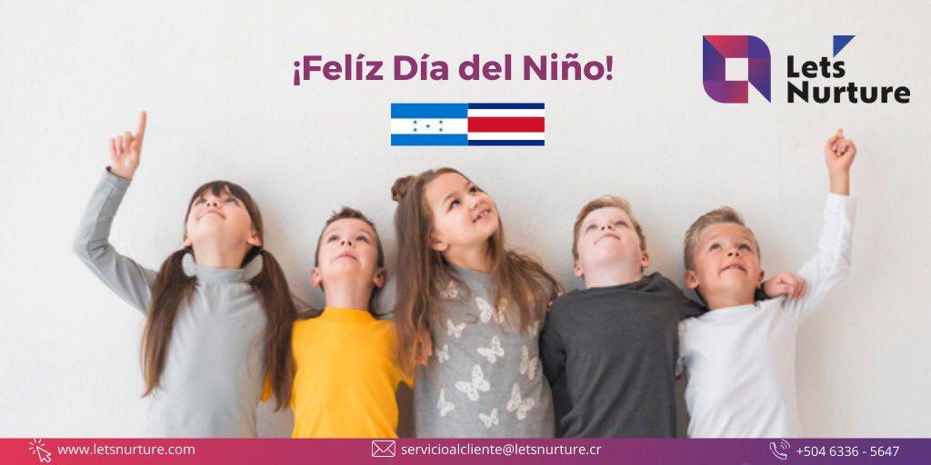 ✨A los niños de Honduras y Costa Rica que son símbolos de futuro y esperanza, les deseamos muchas felicidades en el Día del Niño! #LetsNurture #FelizDiaDelNiño #childrenday #Honduras #costarica #latinoamerica