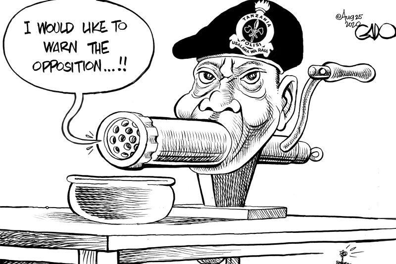 Warning for the Opposition In Tanzania! - Gado https://t.co/zxtzYP9xj6 https://t.co/baeCSqkSuV