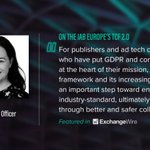 Fiona Davis, @Captify's COO recently spoke to @exchangewire about the impact of the @IABEurope's TCF 2.0 on Captify's clients and the advertising industry in general. Read the full article here: https://t.co/4OgACAOo2n @iab