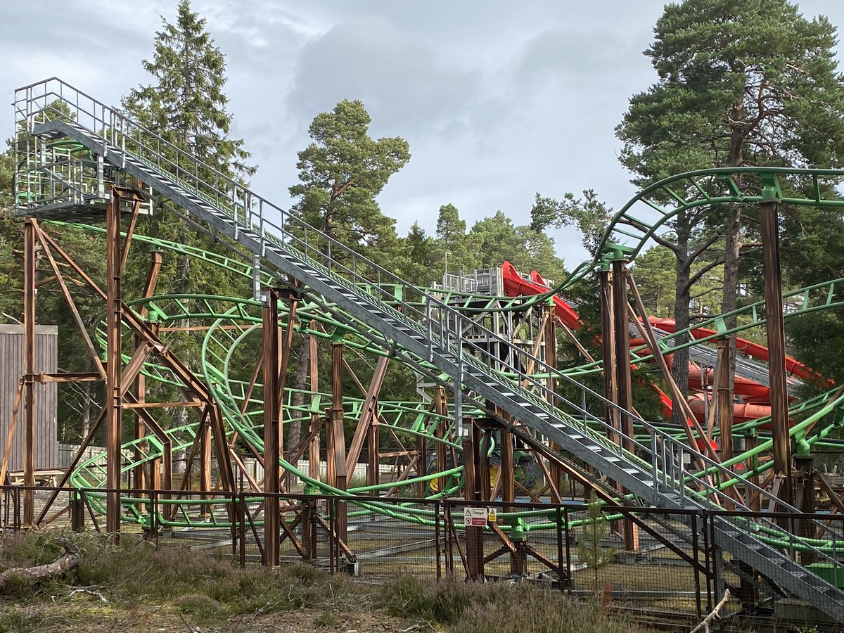 Theme Park Worldwide On Twitter Good Morning From Landmark Forest Adventure Park On The First Day Of My Trip To Scotland