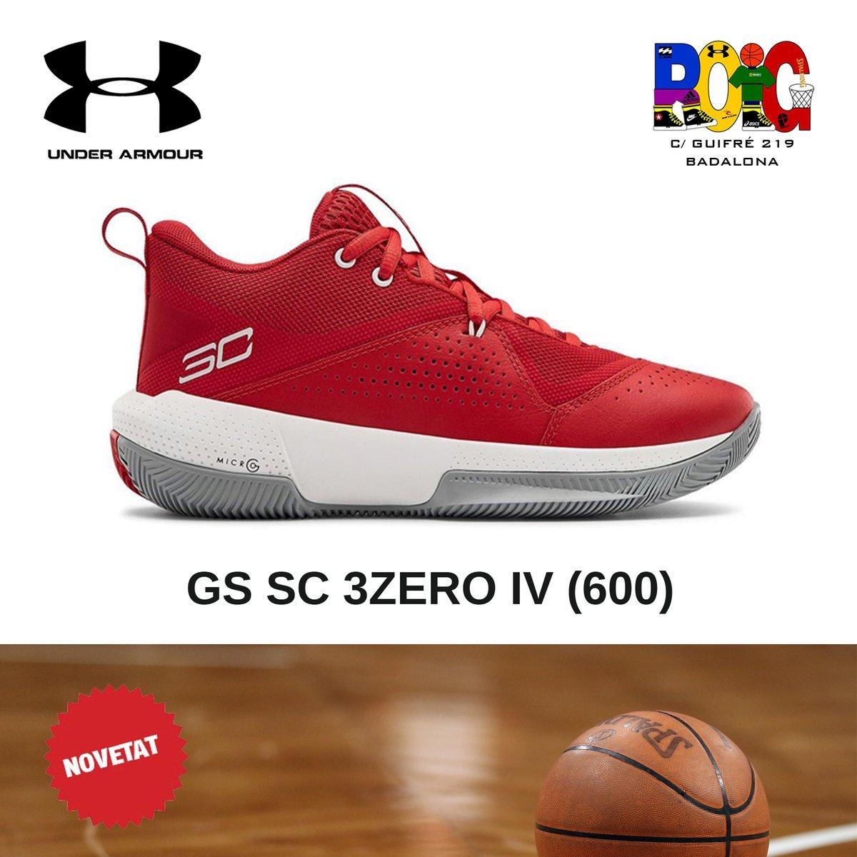 📢 NOVETATS en vambes 👟 de bàsquet 🏀️ junior: les Under Amour GS SC 3ZERO IV (600) Disponibles a la botiga o a la web 💻 en https://t.co/rjtvpbQRxJ #underarmour #bàsquet #jordiroig #badalona https://t.co/p2swkyPORe