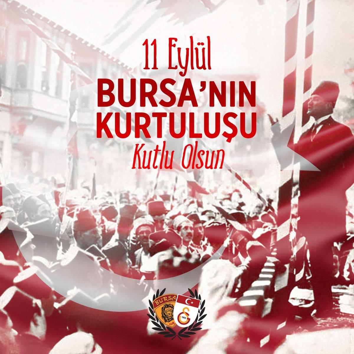 Bursa'nın düşman işgalinden kurtuluşunun 98.yıl dönümü kutlu olsun. Bize Bursa'mızı emanet eden başta Gazi Mustafa Kemal Atatürk olmak üzere vatan uğruna canını veren tüm şehitlerimizi saygı ve rahmetle anıyoruz!  #ultrAslanBURSA https://t.co/1opqbdtpg7
