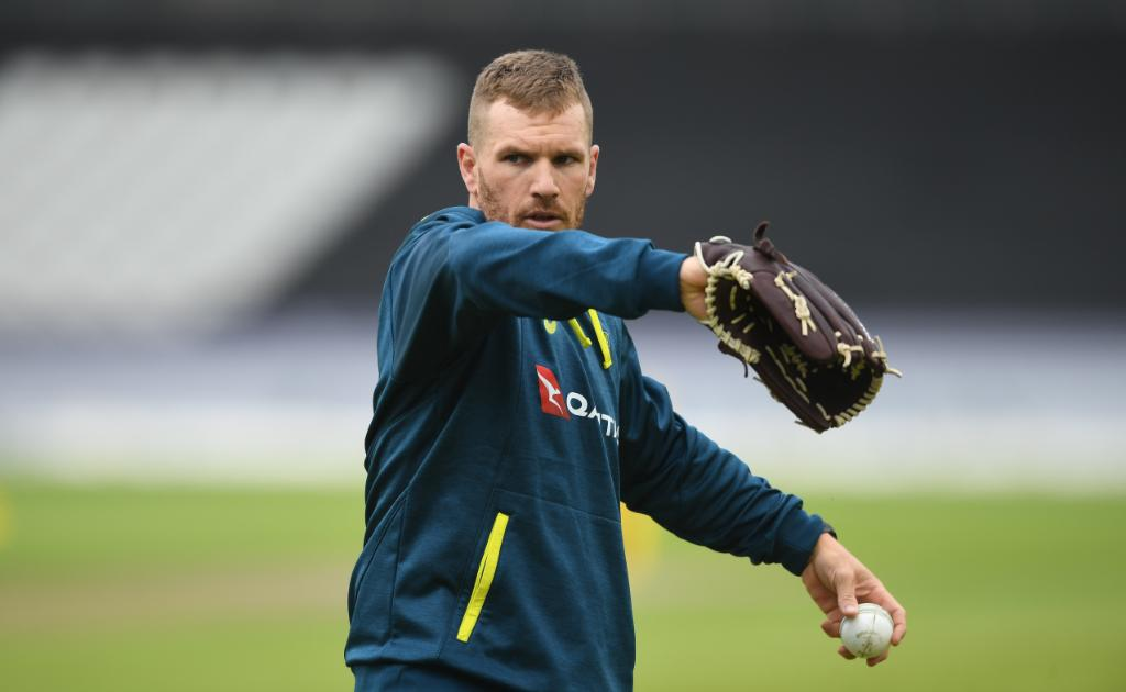Aaron Finch- Practice Session.