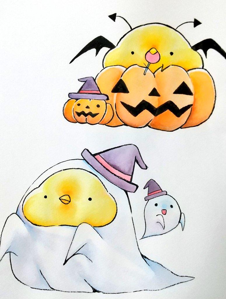 フレークシールの色塗り終わり!  ハロウィン展にはフレークシールの他に、ポストカード、ミニ色紙、羊毛フェルトを用意する予定です💪  #Halloween展 https://t.co/HW5eCf49Uh
