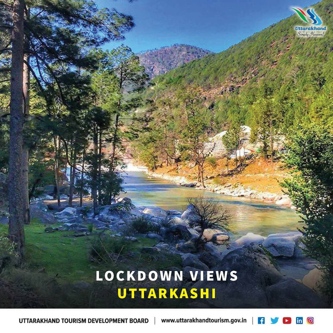 In the sixth part of our Lockdown Series, we present #Uttarkashi. Famous for its scenic beauty, Uttarkashi is the gateway to the holy shrines of #Gangotri and #Yamunotri.  #uttarakhandtourism #simplyheaven https://t.co/wMwpXxoMZh