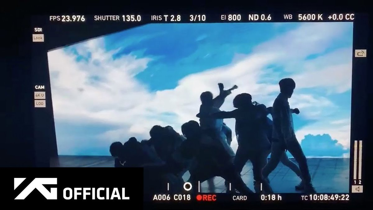 "allkpop on Twitter: ""TREASURE light up against the sky in 'I Love You' MV filming spoiler https://t.co/BWDWEBhsaH… """