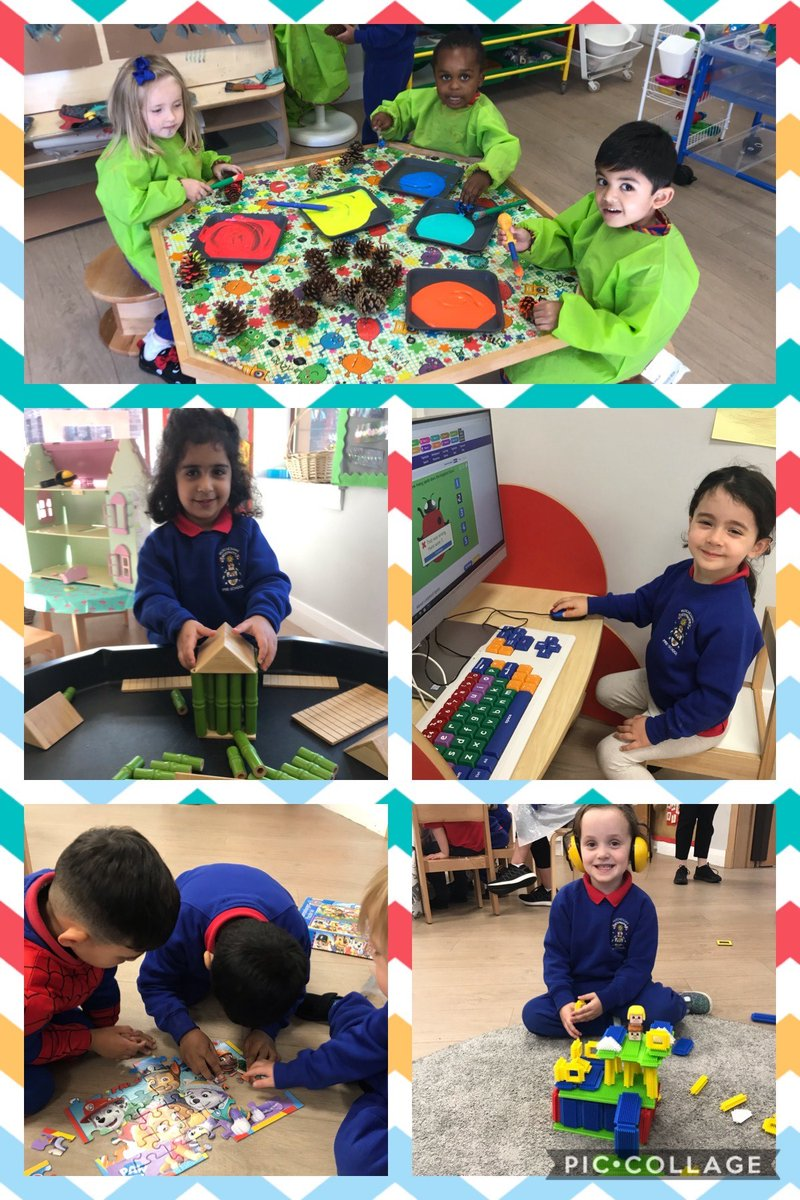 It's been another busy week in our Pre-School.  The children have enjoyed exploring and creating indoors and out.  #BeingMe https://t.co/q1o5H4uNOx
