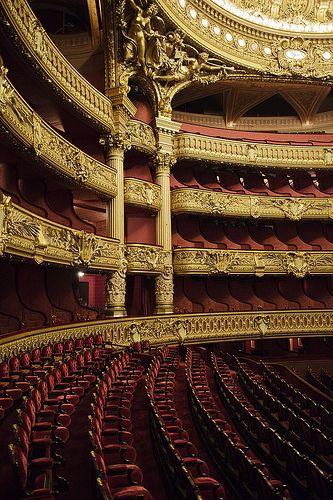 Opéra Garnier, Paris, Fransa, 1875.