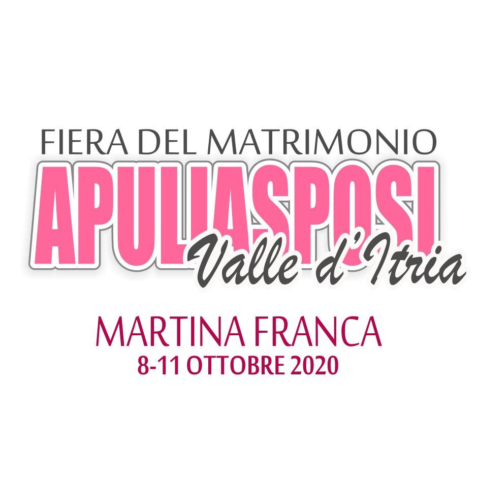 👰🤵 Da giovedì 8 a domenica 11 OTTOBRE 2020, torna Apulia SPOSI Fiera del Matrimonio! 👩❤️👨  Per maggiori informazioni, cliccate sul link 👇 https://t.co/5f9kcYJv0n  #WeAreinPuglia #Puglia365 #VisitMartinaFranca #Puglia #ValledItria #viaggiareinpuglia https://t.co/swMzZRolNd