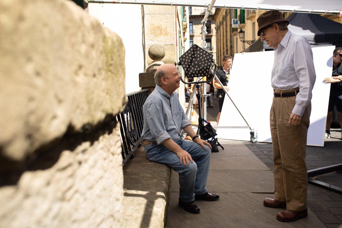 Wallace Shawn y Woody Allen en Rifkin's Festival