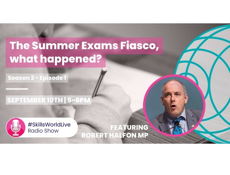 The Summer Exams Fiasco, what on Earth Happened? #SkillsWorldLive 2.1: Tonight's guests include: Robert Halfon |Rae Tooth |Mark Lehain |David Price OBE |Amarjit Basi The Summer Exams Fiasco, what on Earth Happened? #SkillsWorldLive 2.1: Thursday… https://t.co/6jPpIU1xPT https://t.co/esqEaBEDQM