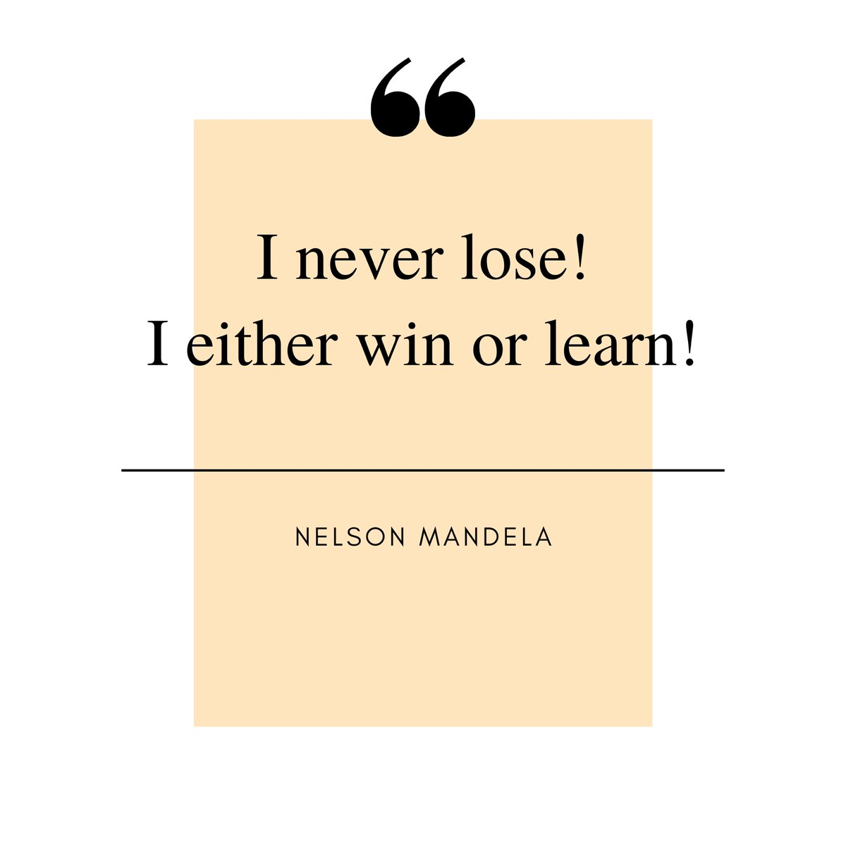 Spending 27 years in prison didn't stop Mandela to fight for what he believed and what he lived for..He is still a great leader in millions' hearts and inspires generations with his quotes and life story✨ . . . . #dowhatyoubelieve #learnings #inspiringfriday #events #lifelong https://t.co/7LpFgU39lB
