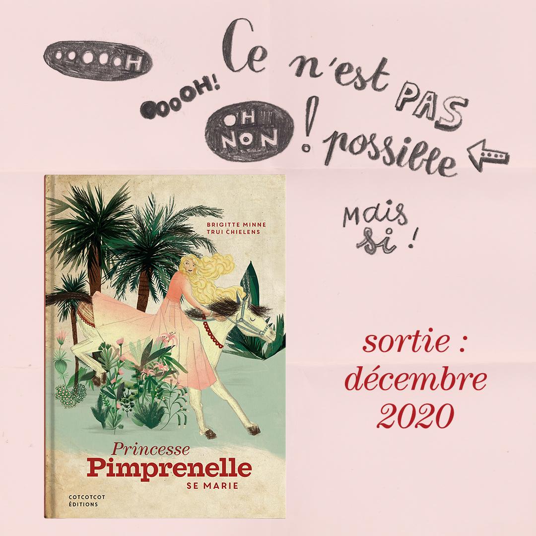 👸🏼💖👸🏼  Il paraît qu'on ne publie pas de livre de princesse...  alors on a fait une exception pour #BrigitteMinne. Who else?!! . Sortie : décembre 2020 ! . . . Rules are there to be broken.  #livrejeunesse #albumjeunesse #litteraturejeunesse #bebook https://t.co/ThYDdUdcYC