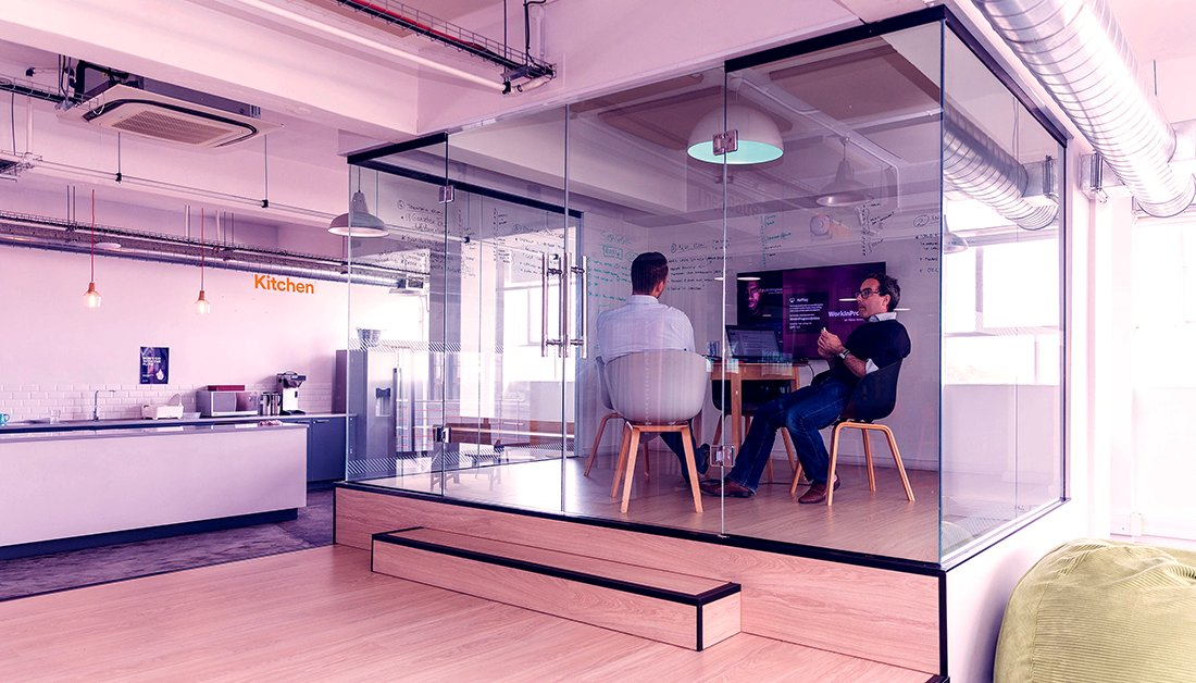 State-of-the-art meeting rooms, private phone booths, fully equipped auditorium and  fully stocked kitchen with coffee machine. We've created the perfect workspace to help you and your #tech #startup reach full potential. Find out our rates here: https://t.co/WPtfDxTYwa https://t.co/6msR7KVOkH