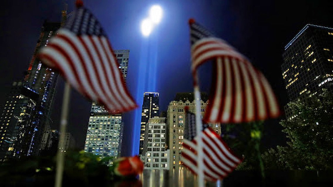 19 years ago, race, religion & politics didn't matter — what mattered was that we were all Americans & we had been attacked.Not only can we #NeverForget that day,but we should always remember the way we came together as 1 American family. Together, Americans conquer any challenge