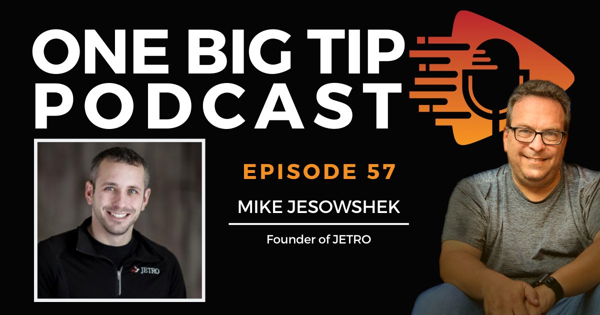 Virtual tax firm owner Mike Jesowshek, who specializes in helping small business owners, explains how to make the most of your tax strategy. Listen now on #OneBigTip podcast Episode 57 ☞ https://t.co/junwrMEMVU #smallbusinessowner #taxes https://t.co/dJ6J5PH2SH