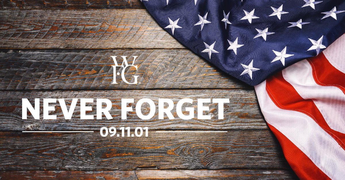 Today we reflect on the tragedy that occurred and honor those who served. #NeverForget https://t.co/qDZLNbYVkO