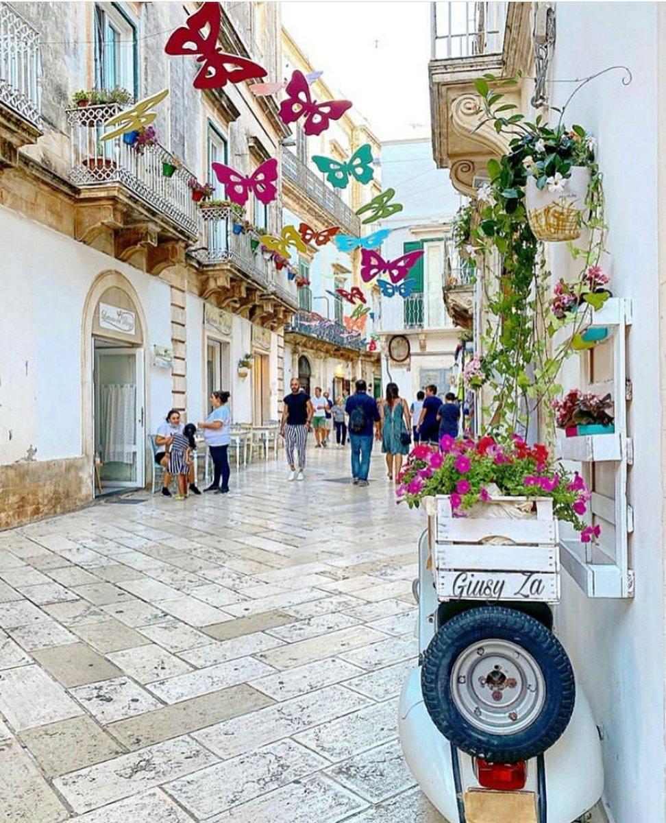 #MartinaFranca è una cittadina trecentesca nel bel mezzo della #ValledItria nota per la sua architettura barocca, a fondarla fu il principe di #Taranto Filippo I d'Angiò. La città è nota per il festival musicale. #vieniinpuglia #puglia #apulia  🇮🇹 Info: +39 348 31 41 636 https://t.co/q5TUg5A9cg