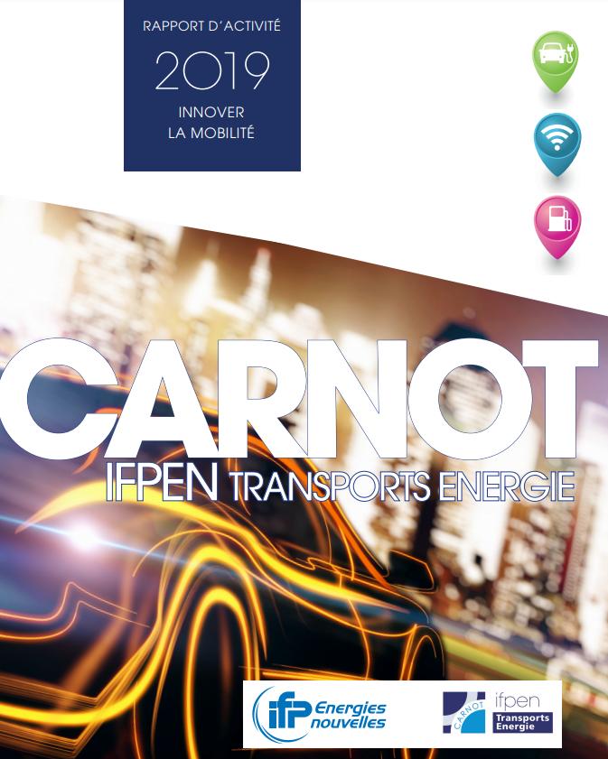 |🚗🚙🚕| Le rapport annuel du #Carnot IFPEN Transports Energie édition 2019 est en ligne ! Retrouvez-y une revue complète des activité d'IFPEN dans le domaine de la #mobilité #innovation #Transports @Reseau_Carnot @FiliereCarnauto  ➡️https://t.co/UhUsFfQRKH https://t.co/k0b1rkAJCP
