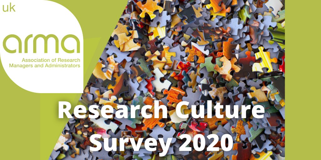 1st ever survey to explore the experiences of those who support, manage and design many of the polices, processes and strategies that shape research culture, inside and outside of HE! https://t.co/wkFAiXdxNH  Open to ALL – closes 25th September. https://t.co/fS2f1EfcSu
