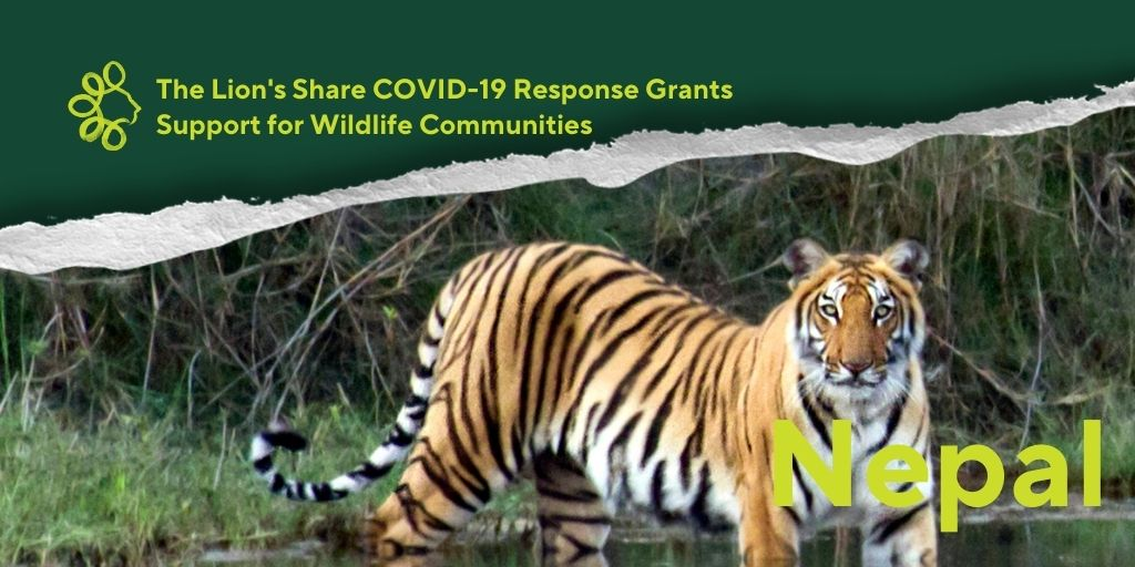#TheLionsShare will fund a community #conservation initiative in the #BardiaNationalPark area of #Nepal, home to many iconic species. The grant aims to improve food security with #permaculture farming for 1000 indigenous community households and reduce reliance on park resources. https://t.co/DKyifLs4l5