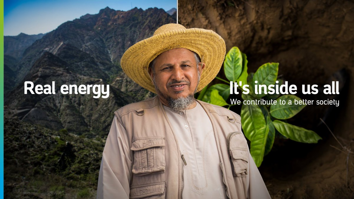 With our corporate social responsibility mission, we help communities, drive socio-economic growth, and protect our planet to allow us to thrive    This is #RealEnergy  #Aramco https://t.co/JmGabanUsM