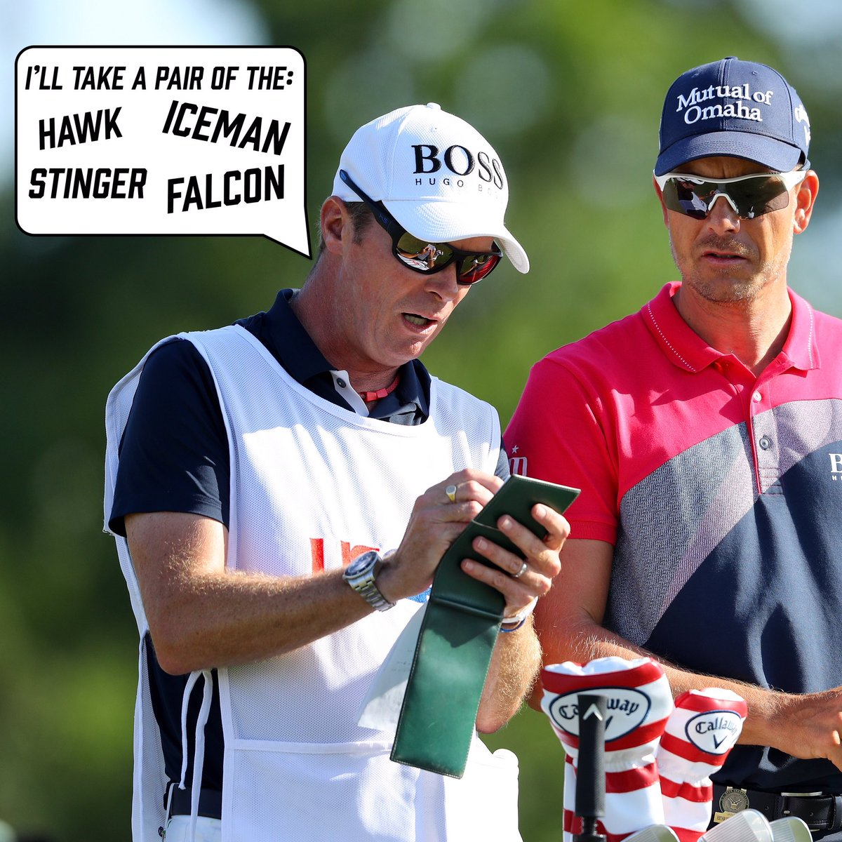 This time last year prior to @usopengolf Gareth was placing his orders...grab yours this year before they all go!  Remember full refund if @henrikstenson wins the Major next week🙌🏼   #eyewear #sunglasses #protection #golf #pgatour https://t.co/IeXcM13ETN