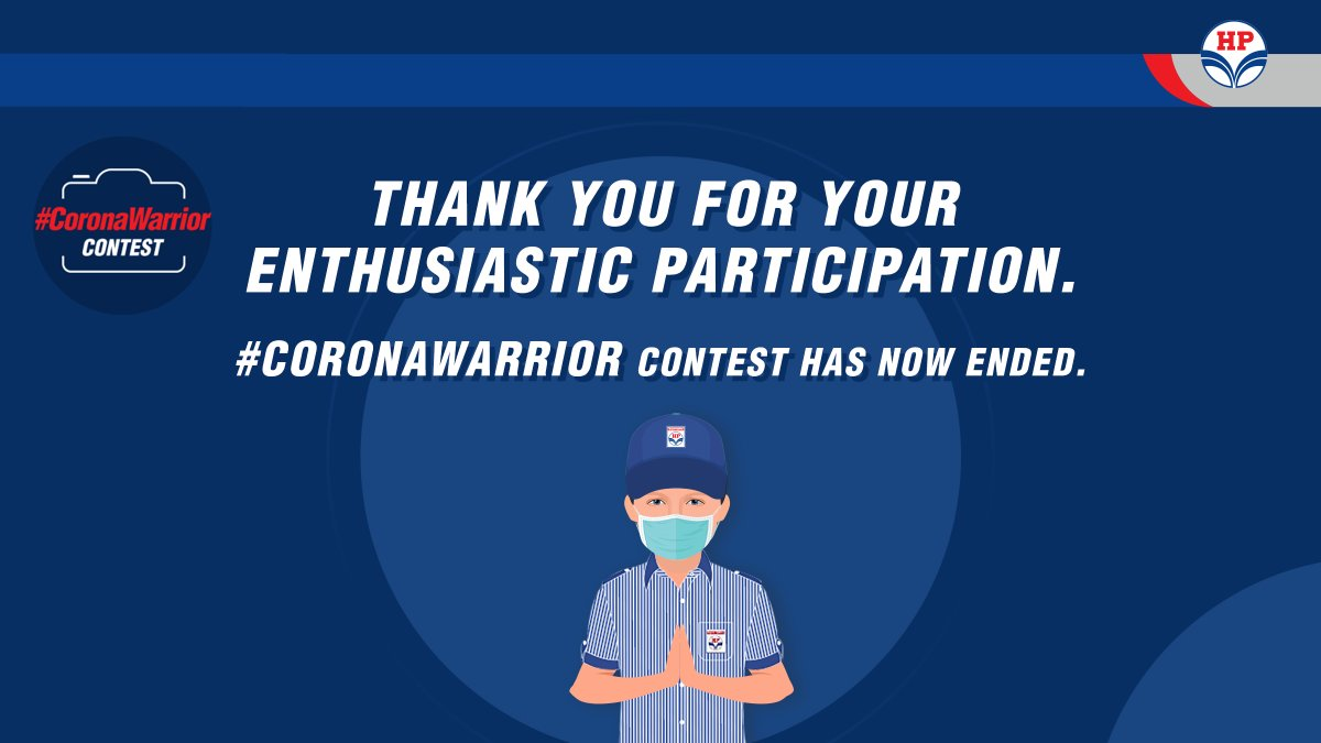 #ContestUpdate: #CoronaWarrior Contest has ended on 11th Sept 20. A big thank you to all those who participated. The winners will be announced soon. Stay tuned! https://t.co/waPg7kJQAW