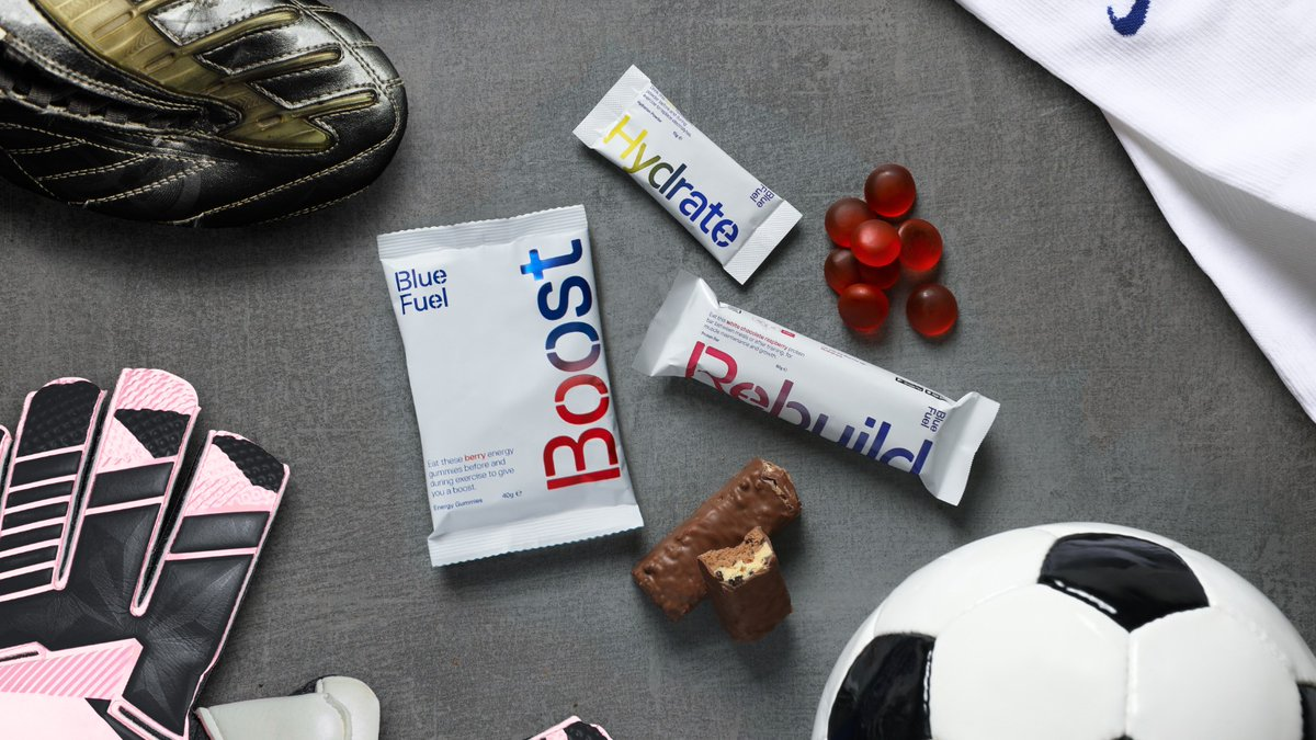 Ready to return to the pitch? ⚽️ Fuel your comeback with our expert nutrition products, and a personalised meal plan in the Blue Fuel app 📲 ✅ Developed with the experts and teams at Chelsea FC. ✅ Fully personalised around your goals and training schedule. #BlueFuel