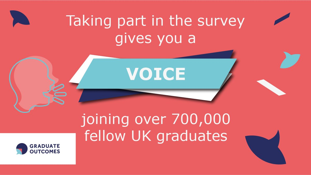 Calling all graduates! If you completed a higher education course between May and July 2019, you'll have received the #GraduateOutcomes survey via email. Be part of the picture of education today. Find out more 👉 https://t.co/U0DwfnJEhn @grad_outcomes https://t.co/eGOrRgbI7O