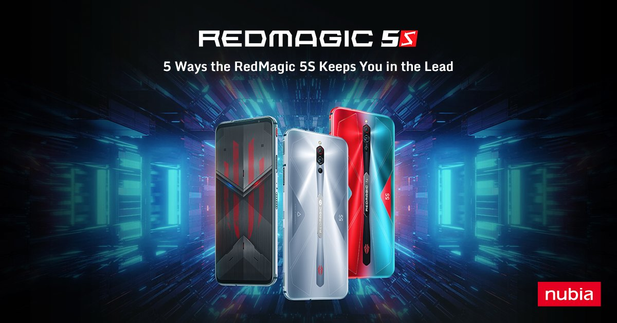 Check out how the RedMagic 5S is going to help you Stay In The Lead. https://t.co/UFdYYXNvMJ https://t.co/sTOa16HHHR